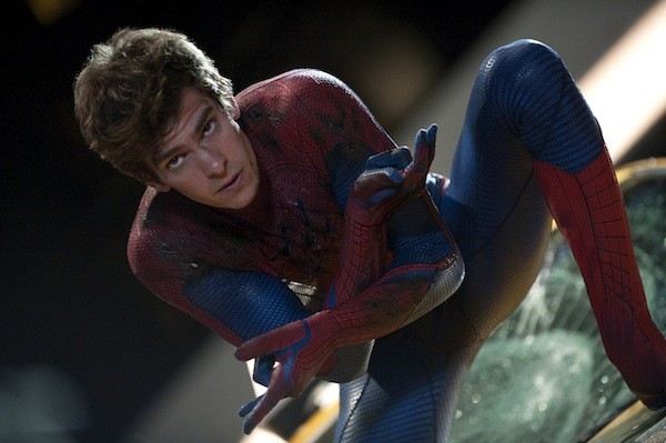 SPIDER-HIPSTER: Andrew Garfield in The Amazing Spider-Man (Photo: Columbia & Marvel)