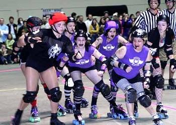 SPORTS: Charlotte Roller Girls vs. Classic City Roller Girls
