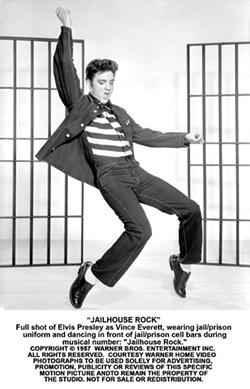 WARNER BROS. - STAR AND BARS: Elvis Presley in Jailhouse Rock