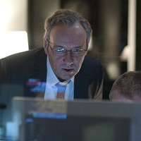 STARING INTO SPACEY: Sam Rogers (Kevin Spacey) doesn't like what he sees in Margin Call. (Photo: Roadside Attractions)