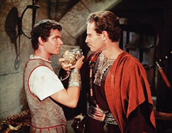 WARNER BROS. - Stephen Boyd and Charlton Heston in Ben-Hur