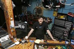 ANGUS LAMOND - Steve Maleski, owner of Espada Bicycles