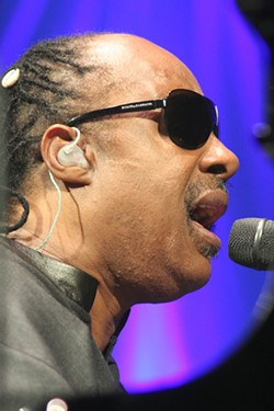 Stevie Wonder (Charlotte Bobcats Arena, Nov. 28)