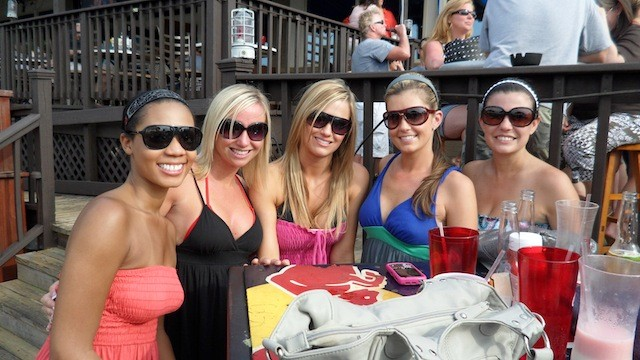 sumertime in the CLT hot girls at rudder