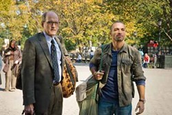 ANCHOR BAY & OVERTURE - SUNDAY IN THE PARK WITH WALTER: Inspired by Tarek (Haaz Sleiman, right), Walter (Richard Jenkins) tries to drum up enough courage to play in public in The Visitor.