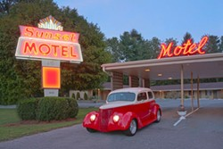 Sunset Motel in Brevard, N.C.