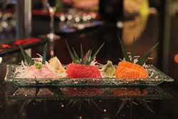 ASHLEY GOODWIN - SUSHI, SHE SAYS: Our food critic enjoyed the selections on the sushi menu at Room 18.