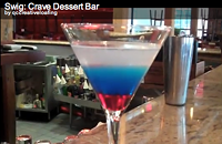 Swig: How to make Crave Dessert Bar's Patriot Martini