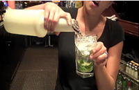 Swig: How to make Sullivan's Steakhouse Bacardi Light Mojito