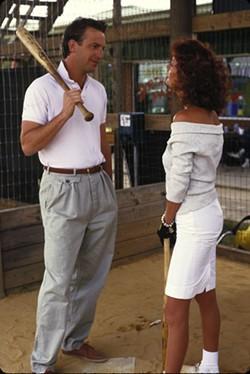 MGM - SWINGIN': Kevin Costner and Susan Sarandon in Bull Durham.
