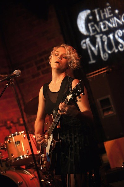 Sy Arden at the Evening Muse on Aug. 2, 2013.
