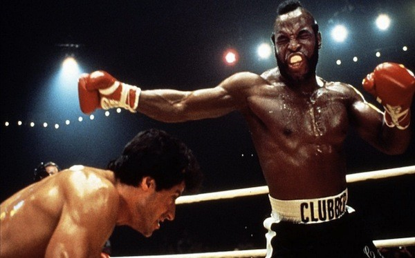 Sylvester Stallone and Mr. T in Rocky III (Photo: MGM & Fox)