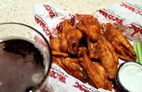 Taco Mac specializes in Buffalo fare