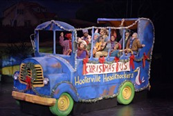 DONNA BISE - Take a ride on the Christmas Bus at ImaginOn