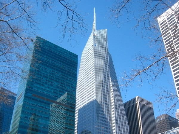 Take it, its yours. The Bank of America Tower in New York, paid for by you and I.