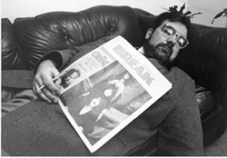 """TAKING A BREAK: Former editor in chief John Grooms reacts to an issue of Break, Creative Loafing's """"competition"""" during its first decade"""