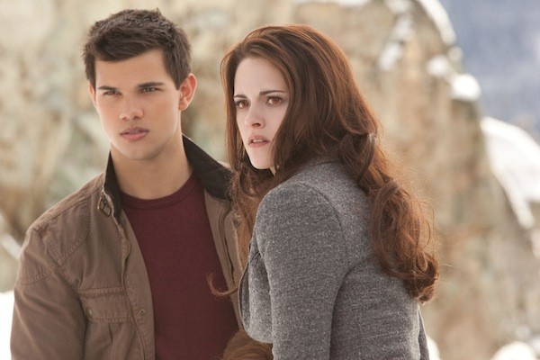 Taylor Lautner and Kristen Stewart in The Twilight Saga: Breaking Dawn - Part 2 (Photo: Summit)