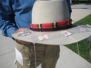 Tea Bag Hat