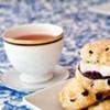 Tea and scones at Crêpe Cellar