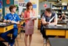 <p>TEACHER'S PET: Dax Flame, Ellie Kemper and Channing Tatum in <i>21 Jump Street</i></p>