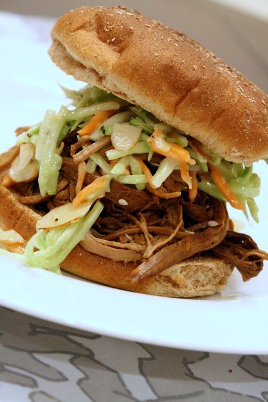 Teriyaki Pork Sandwich