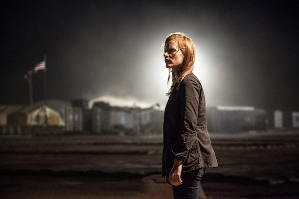 TERROR ALERT: CIA operative Maya (Jessica Chastain) follows all leads in Zero Dark Thirty. (Photo: Jonathan Olley / Columbia Pictures)