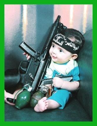 Terror Baby in training