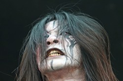 JEFF HAHNE - THAT AIN'T GENE SIMMONS!: Chthonic singer Freddy.