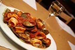 CATALINA KULCZAR - THAT'S ITALIAN: Linguini and calamari