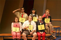 JOAN MARCUS - The 25th Annual Putnam County Spelling Bee opens Oct. 10