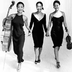 The Ahn Trio performs at Wingate College in - September