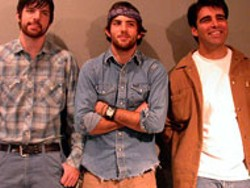 The Avett Brothers: Scott Avett, center, Seth Avett, left, - and Bob Crawford.