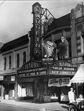 The Carolina Theater, ca. 1931.