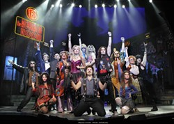 BLUMENTHAL - The cast of Rock of Ages