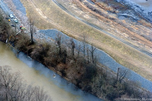 The coal-ash spill into the Dan River