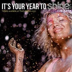 The Color Run 2015 Shine Tour
