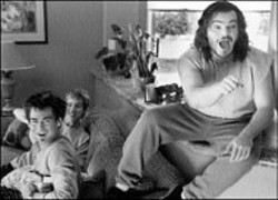GEMMA LA MANA/PARAMOUNT - THE COUCH TRIP Stoners RJ Knoll, Kyle Howard - and Jack Black go to pot in Orange County