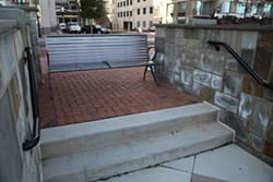 JEFF HAHNE - The County's solution to an accessibility problem at Romare Bearden Park
