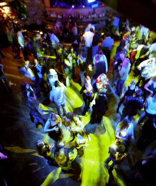 The dance floor of The Forum, back in 2006 - CHRIS RADOK