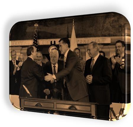 The DNCs Career Politician Mitt costume