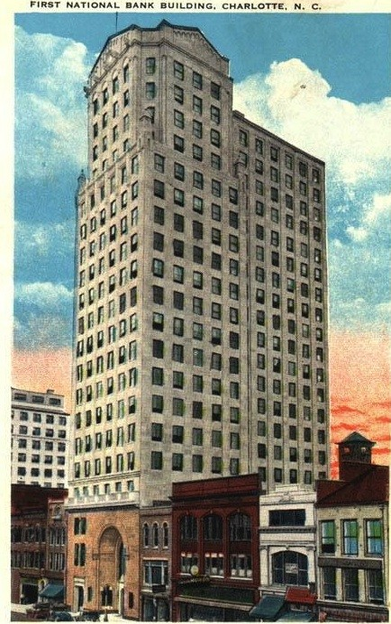 The First National Bank building opened its doors in 1927.