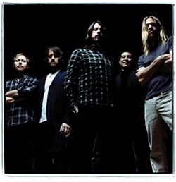 THE FOO, THE PROUD: Tickets for the Foo Fighters' Fillmore concert sold out in less than one minute.