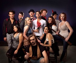 GEORGE HENDRICK'S PHOTOGRAPHY - THE GANG'S ALL HERE: The cast of Bloody Bloody Andrew Jackson