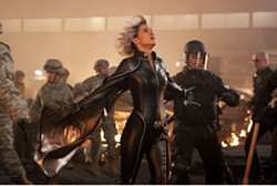 KERRY HAYES / FOX & MARVEL - THE GATHERING STORM An epic battle forces Storm (Halle Berry) to look for a silver lining among the clouds in X-Men: The Last Stand.
