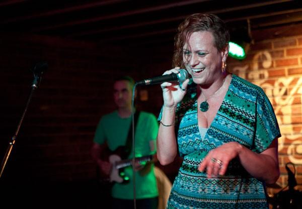 The Monday Night Allstars at the Double Door Inn on Oct. 7, 2013.