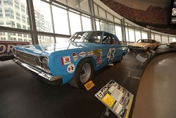 BILL RUSS/VISITNC.COM - THE MONEY PIT: The NASCAR Hall of Fame