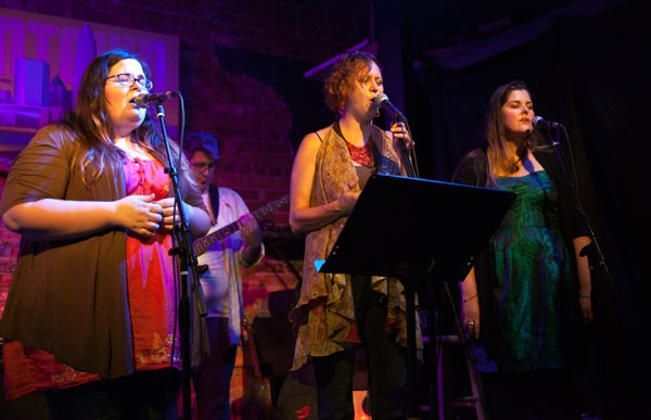 The Near Misses reunite for Patty Griffin Tribute Night at the Evening Muse on July 18, 2013.