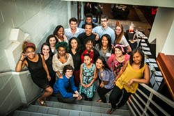 COURTESY OF CUNNINGHAM PHOTO ARTISTS - The Possibility Project production team