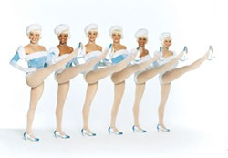The precious, precision-kicking Rockettes begin their residency at Ovens Auditorium beginning Fri., Dec. 16