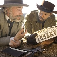 THE QUICKER PICKER-UPPERS: Bounty hunters King Schultz (Christoph Waltz) and Django (Jamie Foxx) get busy rounding up fugitives. (Photo: The Weinstein Company)